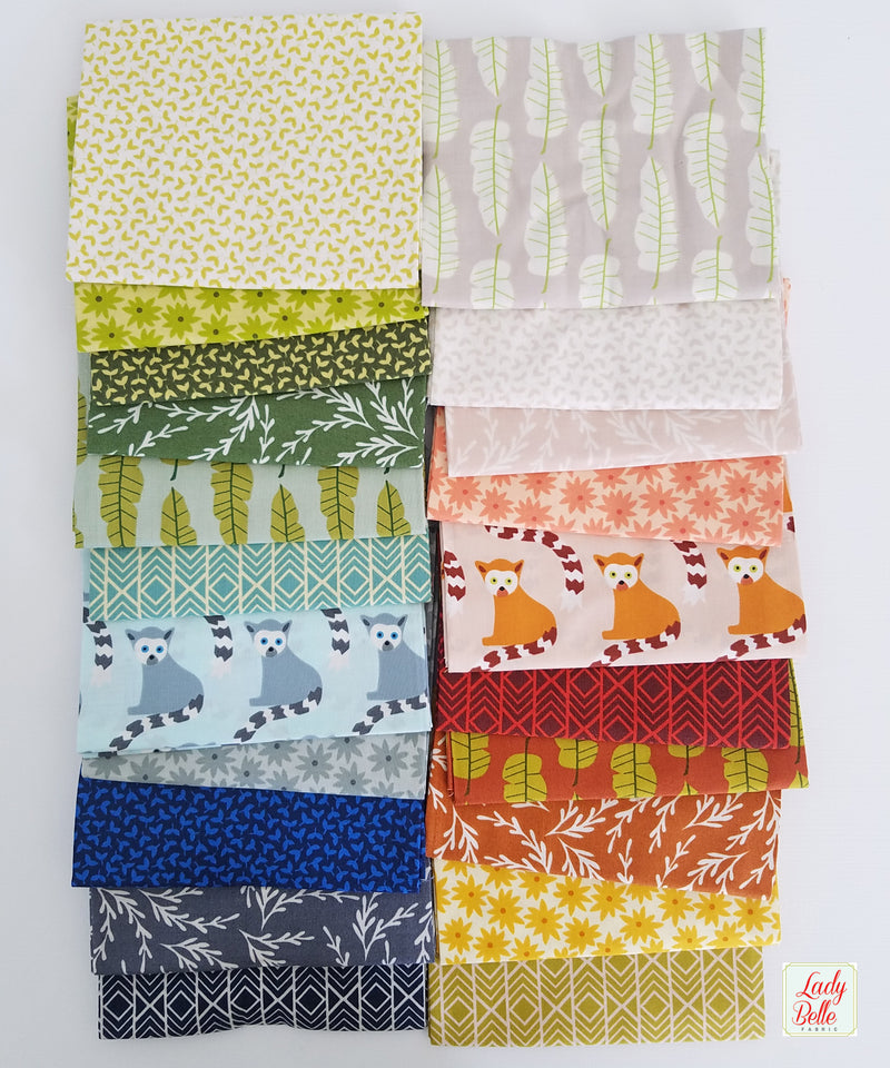 Heather Ross 20th Anniversary Collection for Windham Fabrics Half Yard Bundle