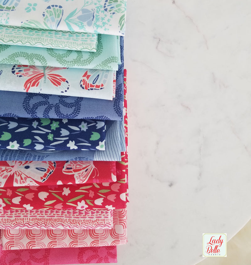 Trixie by Heather Ross for Windham Fabrics Half Yard Bundle