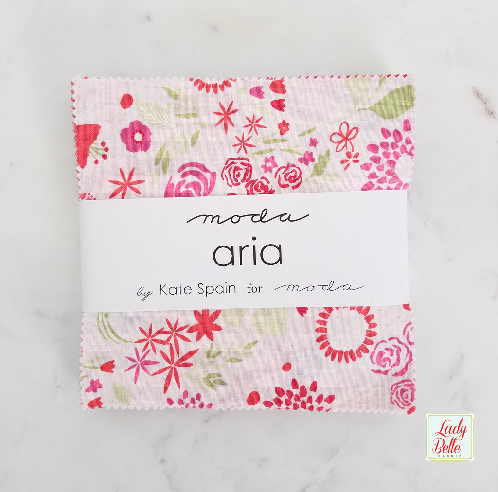 Aria by Kate Spain for Moda Charm Pack