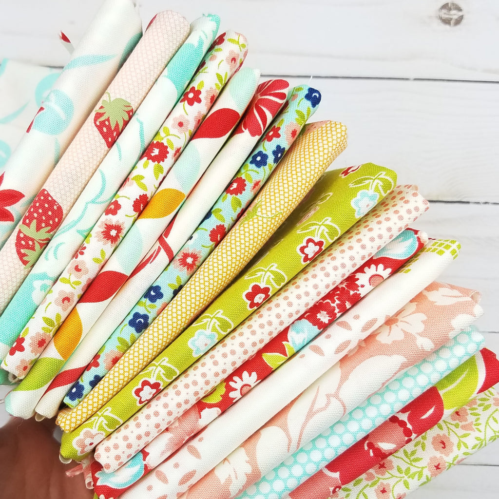 Bonnie and Camille 16 piece Collectors  Fat Quarter Bundle