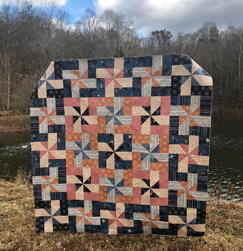 Beacon Quilt Kit by Maureen Cracknell