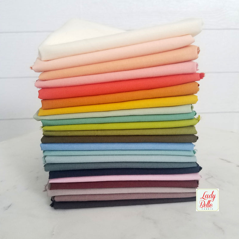 Moody Organic Basics Fat Quarter Bundle