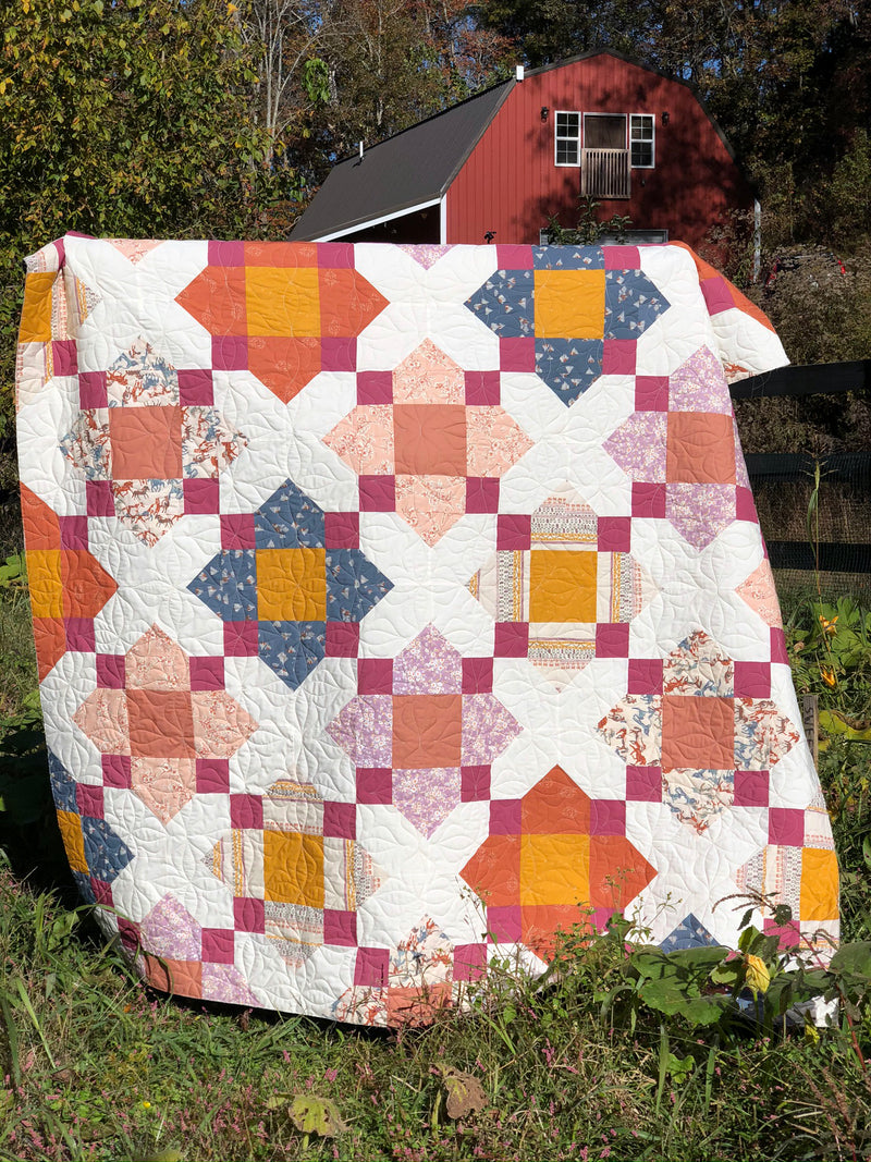 Blossom Quilt Kit by Sharon Holland