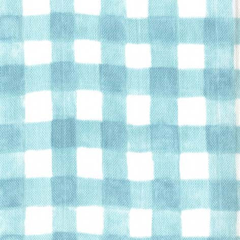Sommer Mist Gingham Double Gauze by Sarah Jane for Michael Miller