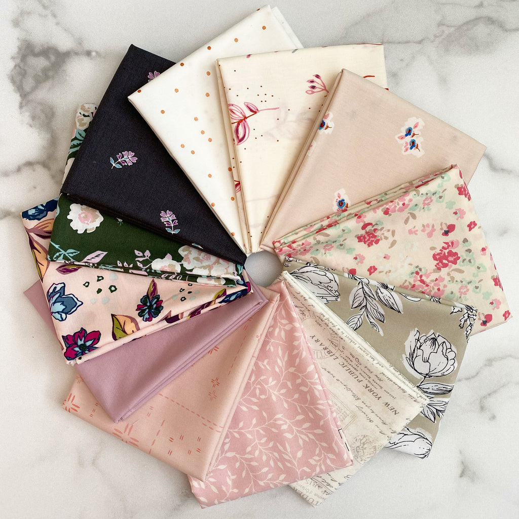 Blush Mix Up Fat Quarter Bundle from Art Gallery Fabrics