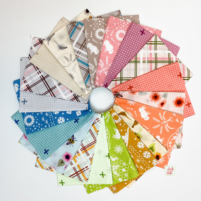 Buffalo Flats by Violet Craft for Robert Kaufman Fat Quarter Bundle