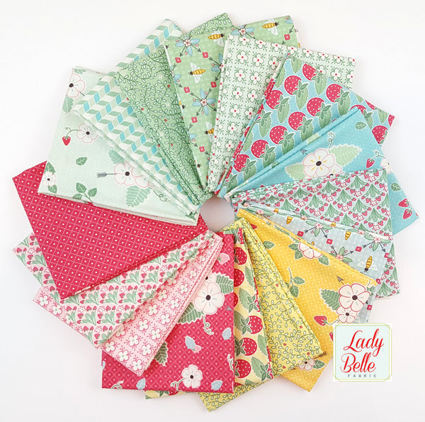 Bumble Berries by the Jungs for Moda Fat Quarter Bundle