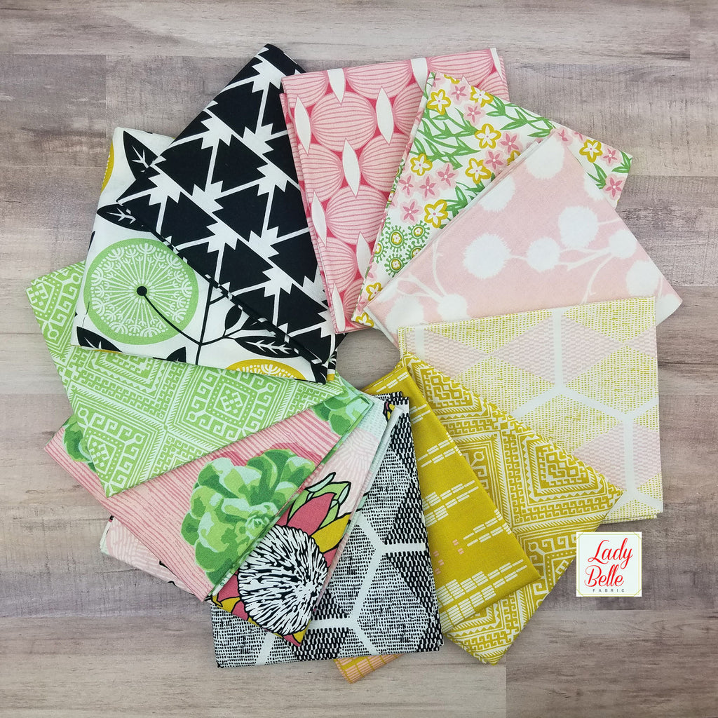 CaliMod by Joel Dewberry for Free Spirit Fabric Fat Quarter Bundle