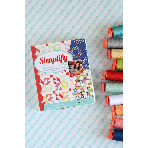Aurifil Thread kit Simplify By Camille Roskelley