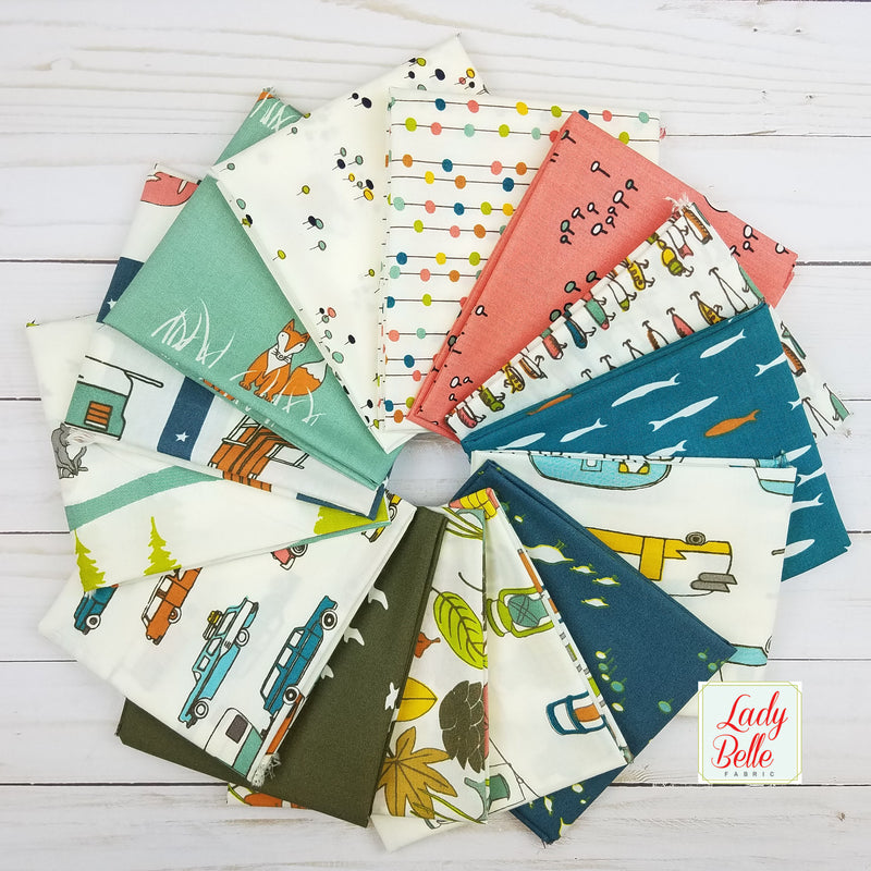 Best of Teagan White for Birch Fabrics Half Yard Bundle