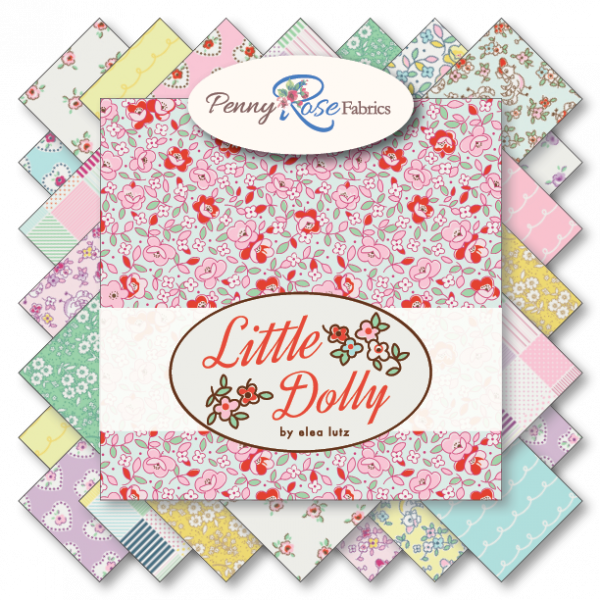 Little Dolly by Elea Lutz for Penny Rose Fabrics Half Yard Bundle