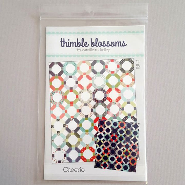 cherrio quilt pattern by camille roskelley