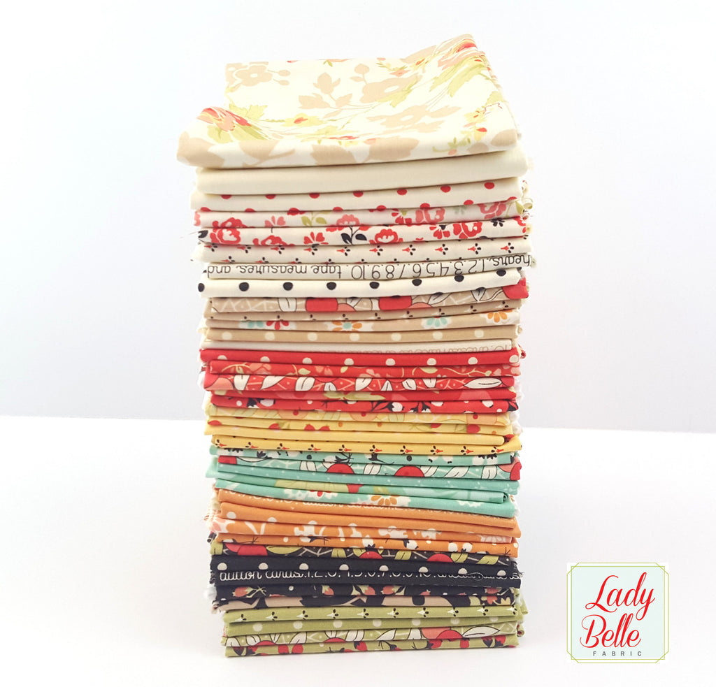 Chestnut Street by Fig Tree and Co. for Moda Fat Quarter Bundle