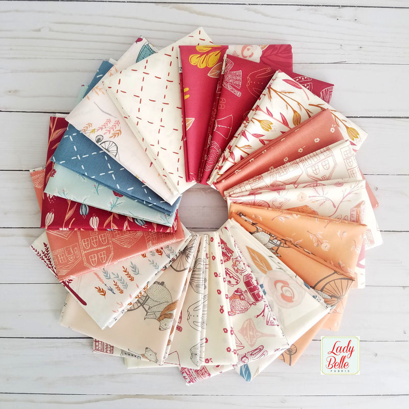 Retro Ornaments Quilt Kit by Lo and Behold Stitchery