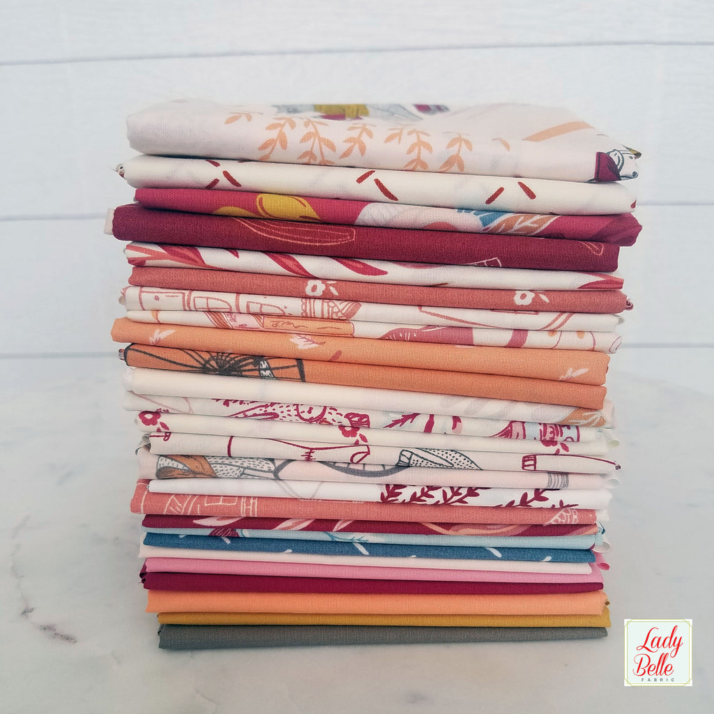 Clementine Basics by Art Gallery Fabric Fat Quarter Bundle