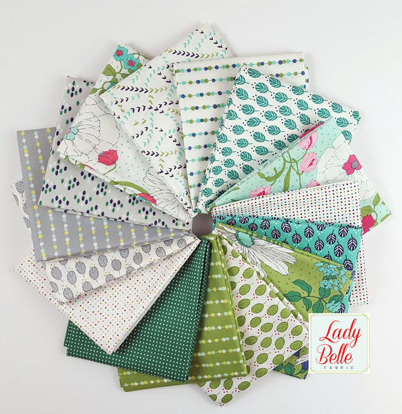 Moda Color Me Happy by V and Co. 15 Fat Quarter Bundle