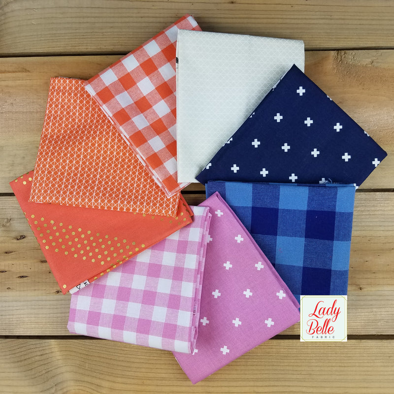 Cotton and Steel Kicks Basics Fat Quarter Bundle