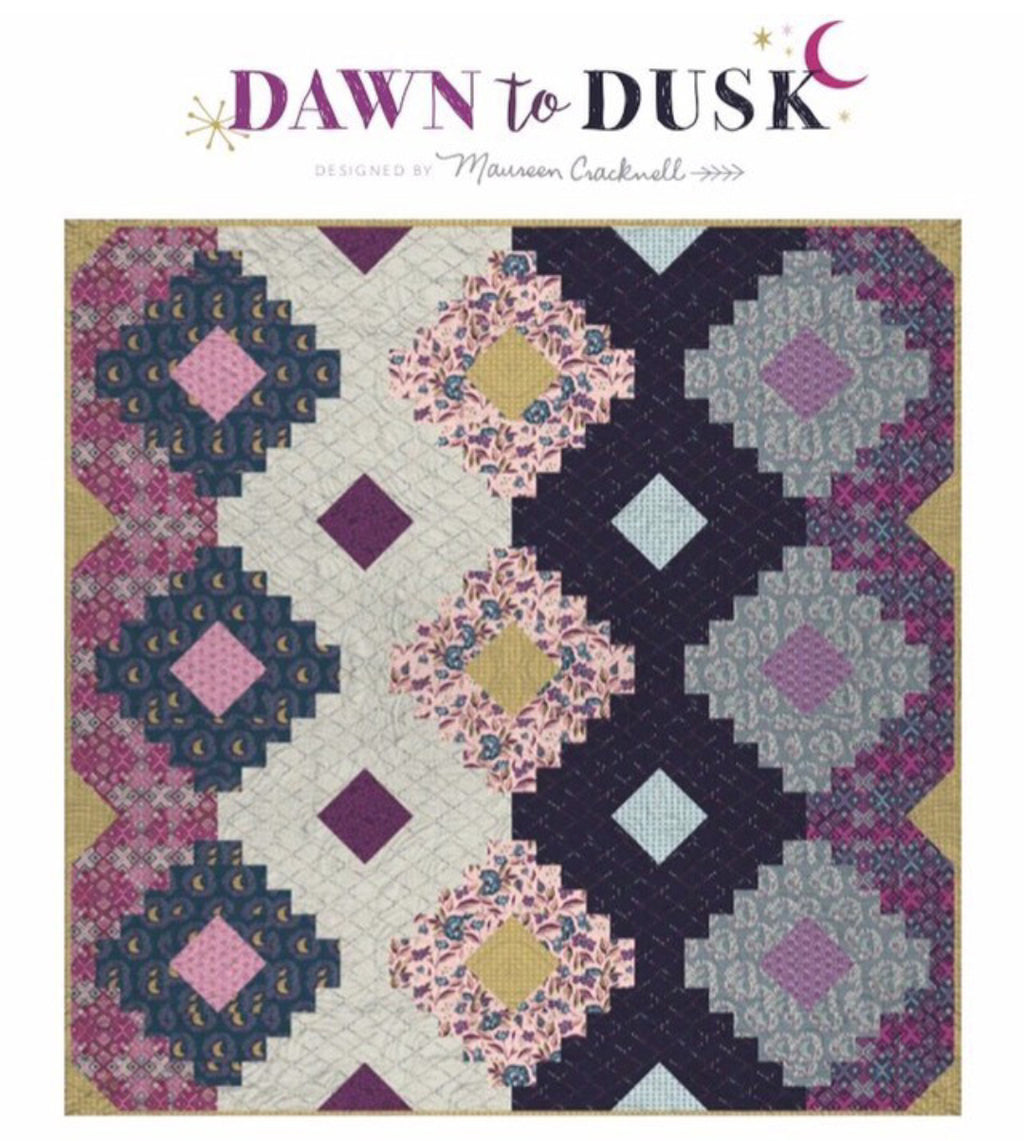 Dawn to Dusk Quilt Kit by Maureen Cracknell for Art Gallery Fabrics Mystical Land