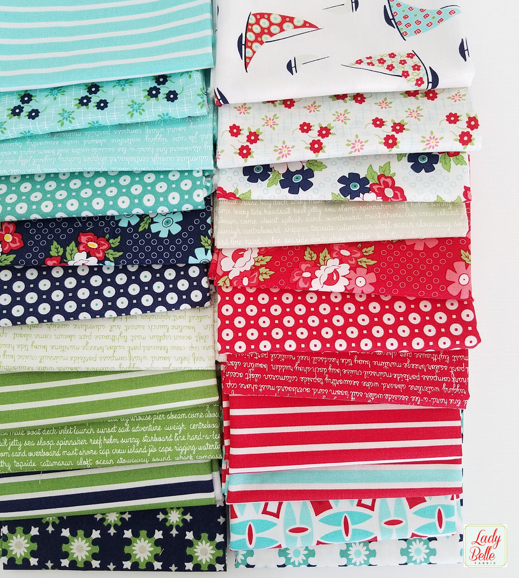 Daysail by Bonnie and Camille for Moda Fabrics Fat Quarter Bundle