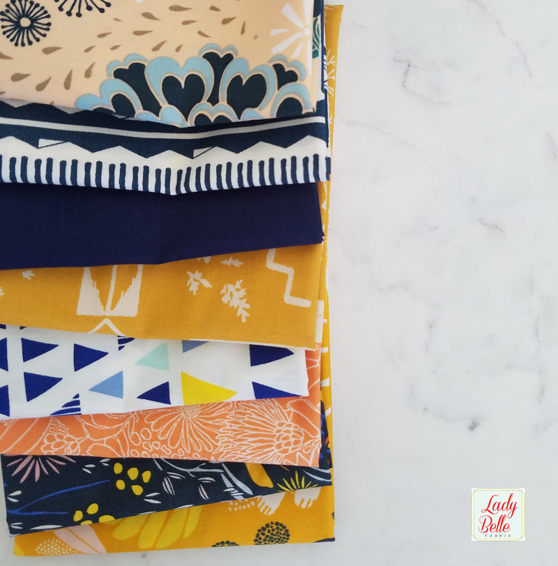 Serendipity by Minki Kim for Riley Blake Fat Quarter Bundle