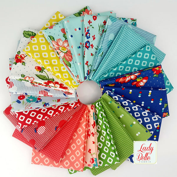 Dixie by Allison Harris for Windham Fabrics Fat Quarter Bundle