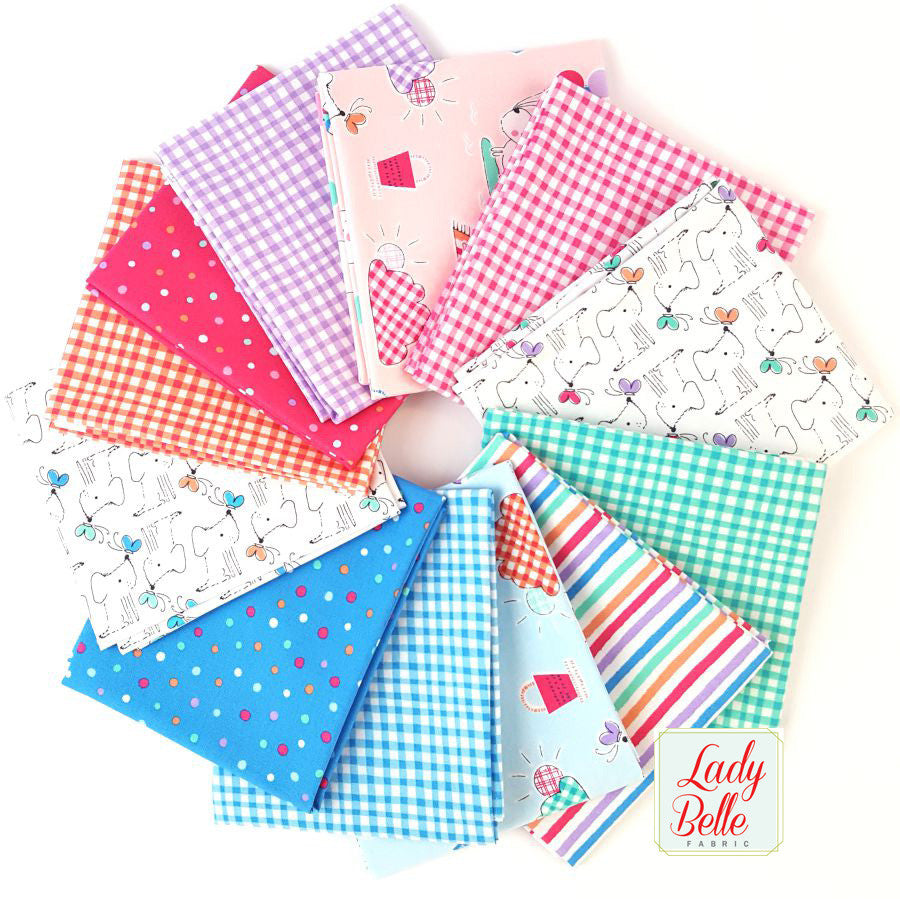 Doggie Play Day by Michael Miller Fat Quarter Bundle