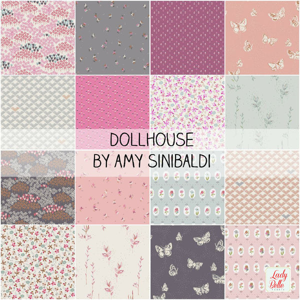 Dollhouse by Amy Sinibaldi for Art Gallery Fabrics Half Yard Bundle
