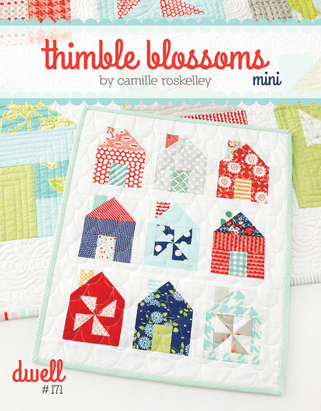 Mini Thimble Blossoms by Camille Roskelley - Lady Belle Fabric