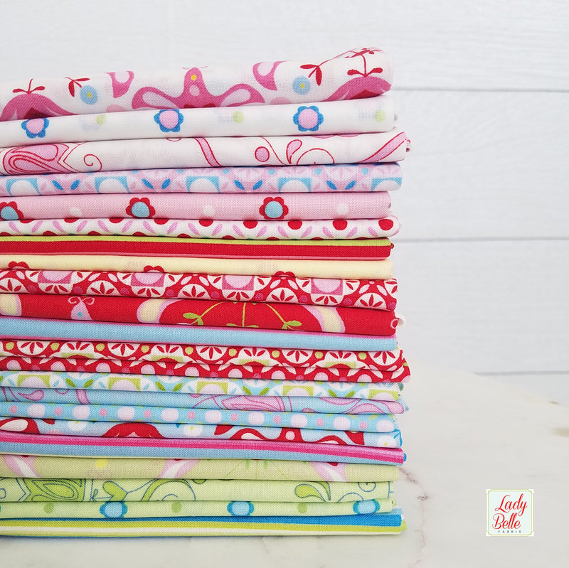 Cozy and Joyful Basics by Maureen Cracknell for Art Gallery Fabrics Half Yard Bundle