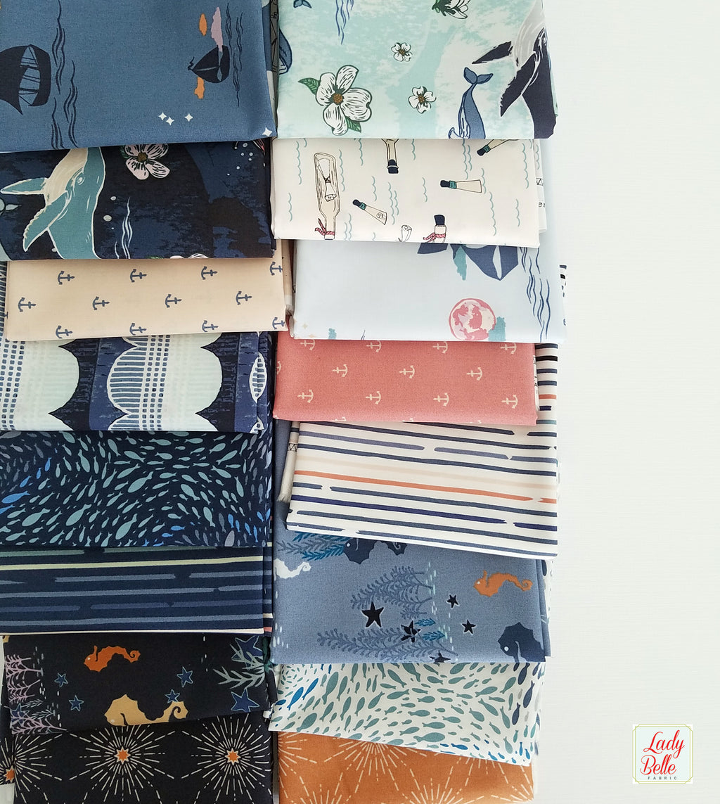 Enchanted Voyage by Maureen Cracknell for Art Gallery Fabrics Fat Quarter Bundle