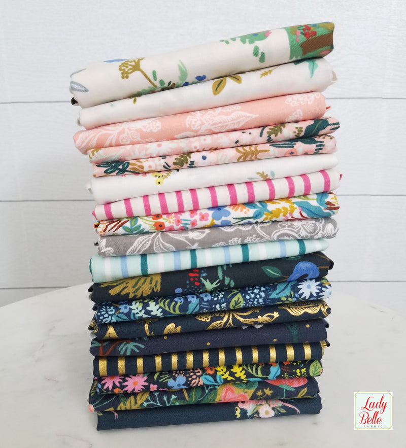 English Garden by Rifle Paper Co. for Cotton and Steel Fat Quarter Bundle