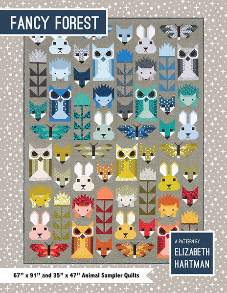 Fancy Forest Quilt Kit by Elizabeth Hartman