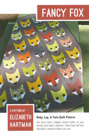 Fancy Fox by Elizabeth Hartman Quilt Pattern