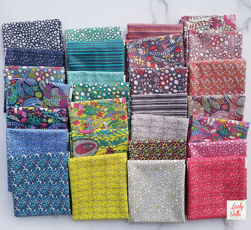Far Far Away 2 by Heather Ross for Art Gallery Fabrics Half Yard Bundle