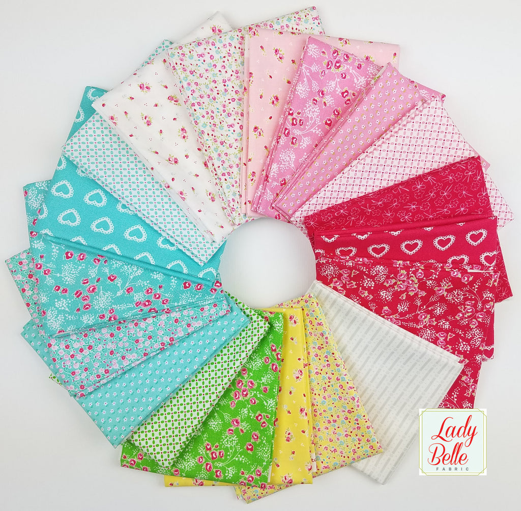 First Romance by Kristyne Czepuryk for Moda Fat Quarter Bundle