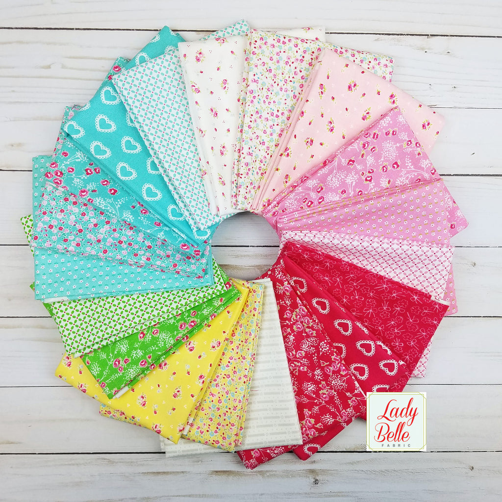 First Romance by Kristyne Czepuryk for Moda Half Yard Bundle