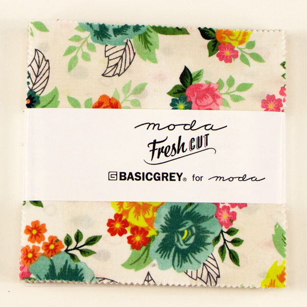 Fresh Cut by Basic Grey for Moda Charm Pack - Lady Belle Fabric  - 1