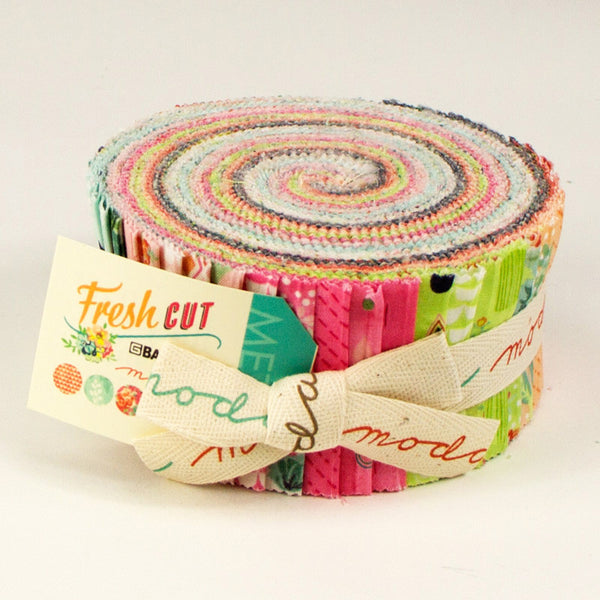 Fresh Cut by Basic Grey for Moda Jelly Roll - Lady Belle Fabric  - 1