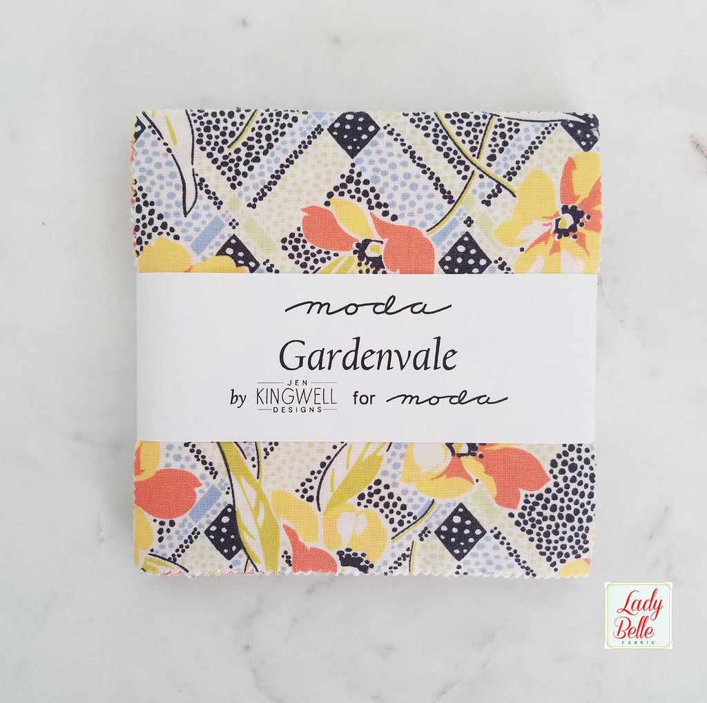 Gardenvale by Jen Kingwell for Moda Charm Pack