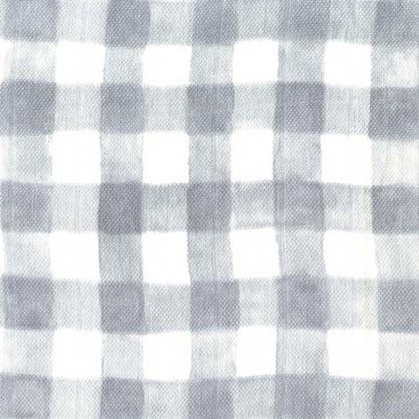 Sommer Gray Gingham Double Gauze by Sarah Jane for Michael Miller