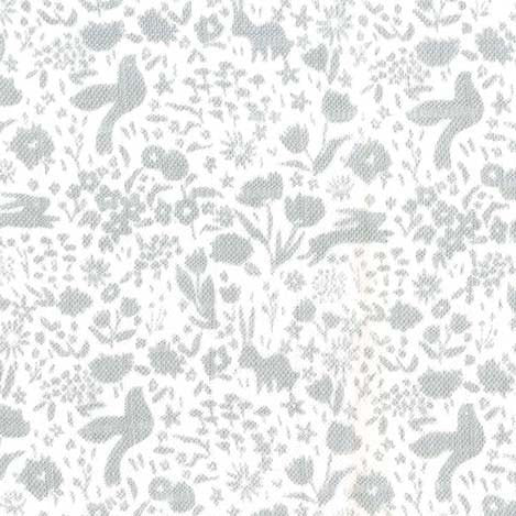 Solid Dark Shroom by Birch Fabrics Organic Cotton
