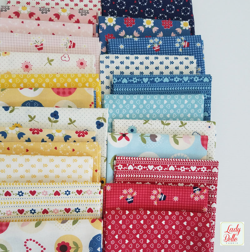 Sugarhouse Park by Amy Smart for Riley Blake Half Yard Bundle