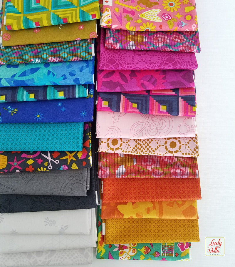Handicraft by Alison Glass for Andover Fabric Fat Quarter Bundle