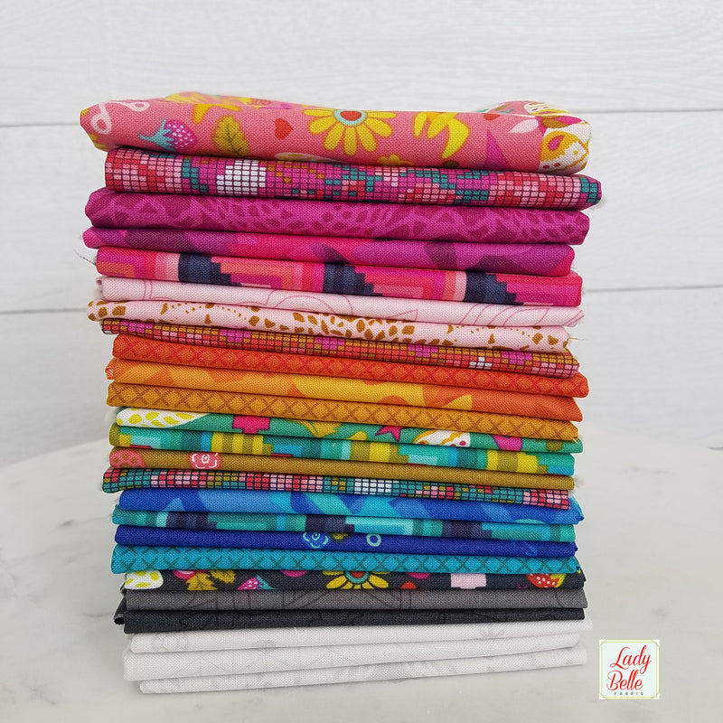 Handicraft by Alison Glass for Andover Fabric Half Yard Bundle