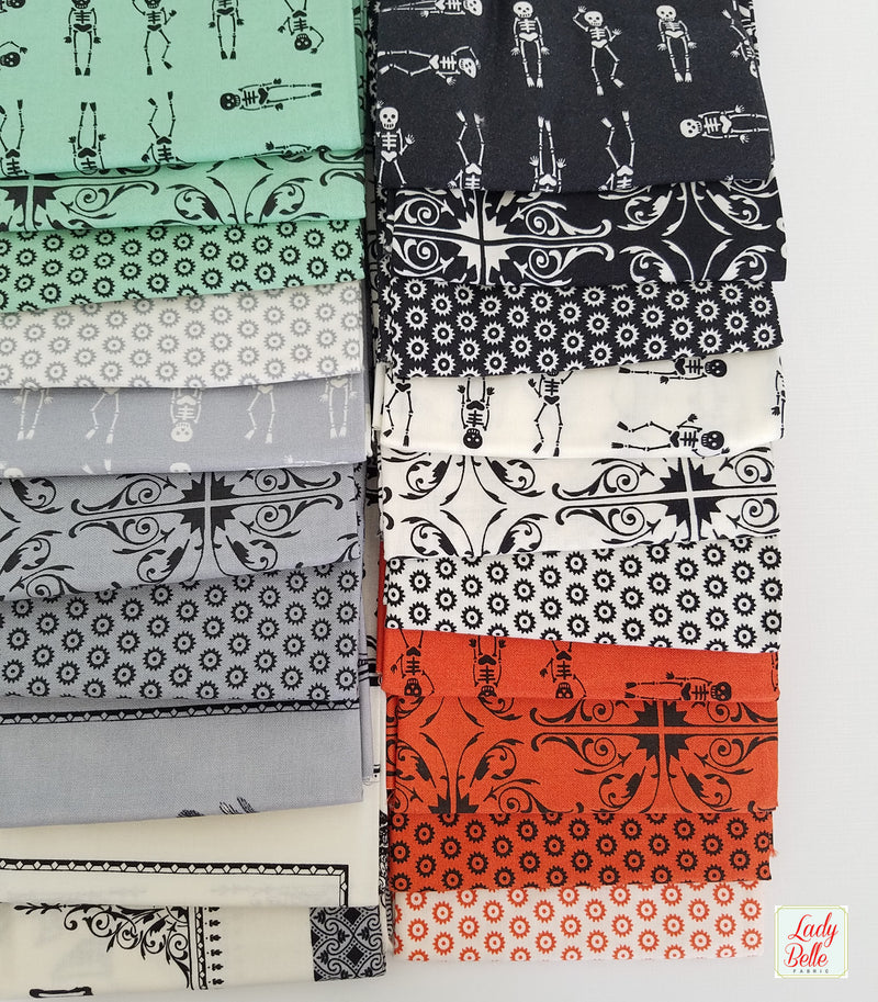 Haunted Gala by Eric and Julie Cornstock for Moda Fat Quarter Bundle