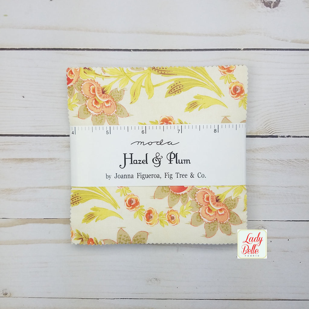 Hazel and Plum Charm Pack by Fig Tree and Co. for Moda
