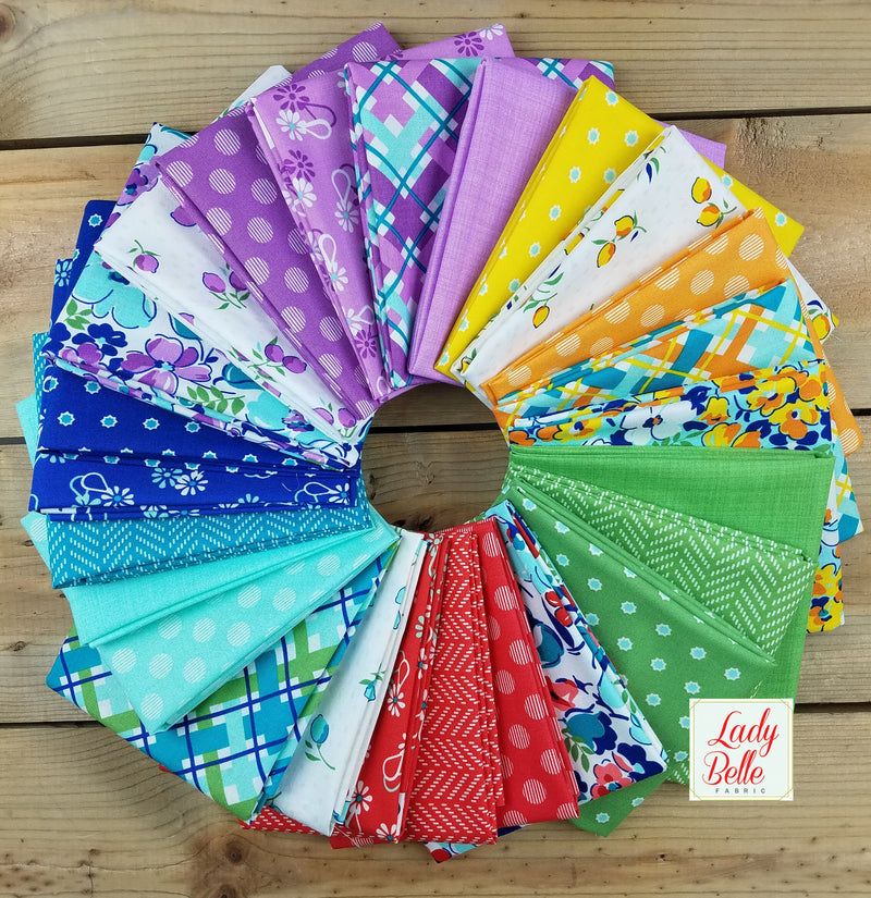 Hello Jane by Allison Harris for Windham Fabrics Fat Quarter Bundle