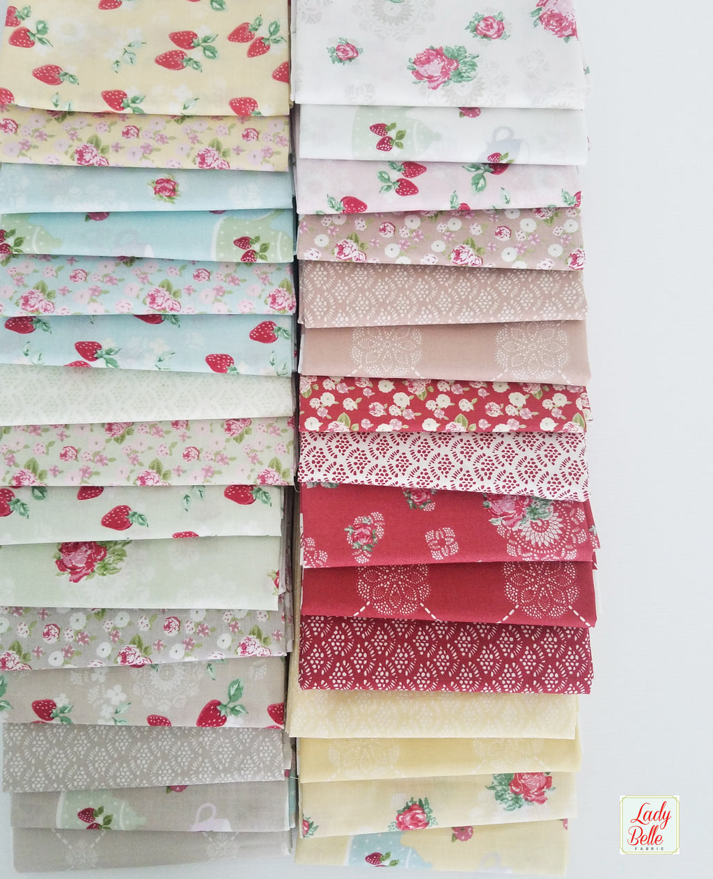 High Tea by Jera Brandvig for Lecien Fabrics Fat Quarter Bundle