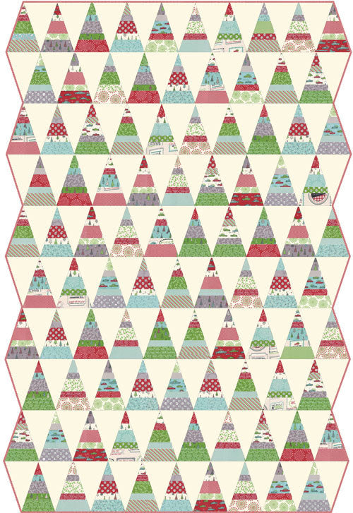 Holly's Tree Farm Apple Red Star by Sweetwater for Moda Fabrics 5584 12