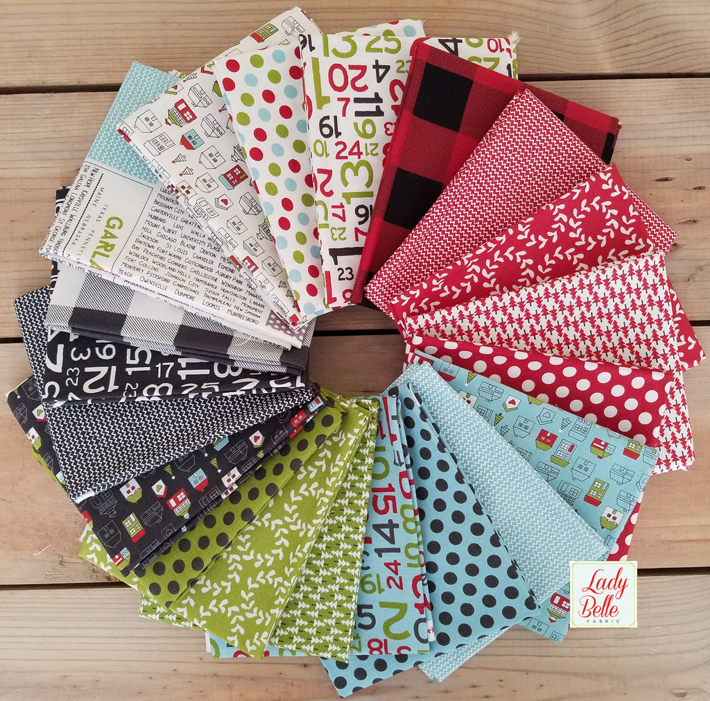 Hometown Christmas by Sweetwater for Moda Fat Quarter Bundle